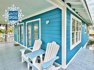 FEB OPEN! Winter up to 20% OFF! Updated Cottage Steps 2 Beach +FREE VIP Perks