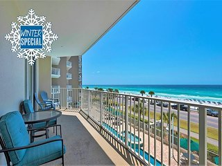 **2018 DISC** GULF VIEW Condo *Resort! Heated Pool/Hotub Gym +FREE VIP Perks!