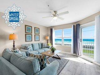 *2018 DISC* RENOVATED, GULF VIEW! Heated Pool/Spa +FREE Beach Service & Perks