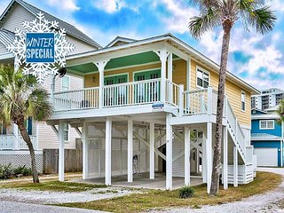 Winter up to 20% OFF! Updated Cottage Just Steps 2 Beach + FREE VIP Perks!!!!