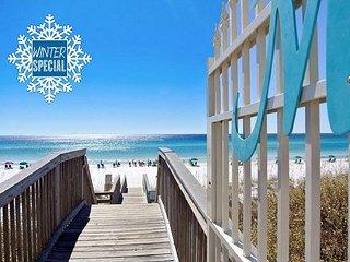 **2018 DISC** FREE BEACH Service & VIP Perks! Steps 2 Beach! Heated Pool/Spa!