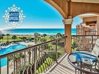**2018 DISC** GULF VIEW Condo: Pool Hotub +FREE Beach Service &FREE VIP Perks