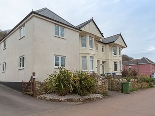 NEW COTTAGE, detached cottage, coastal views, South West Coast Path nearby