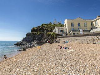 2 AT THE BEACH, ground floor apartment, beachside location, sea views, furnished