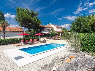 Villa Anita with swimming pool in Garica, Island Krk
