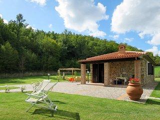2 bedroom Villa in Boccheggiano, Tuscany, Italy - 5481080