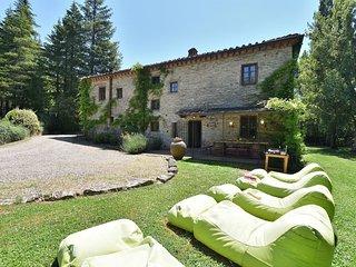 5 bedroom Villa in Vertine, Tuscany, Italy : ref 5580904