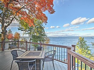 NEW! Waterfront Gilford Home w/Stunning Lake Views