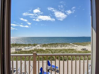 #203: Ocean views from both sides! Updated 2-bedroom right on the beach!