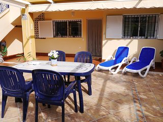 Nice SUNNY TERRACE, Novamar 4, Wi-Fi, 2 Bed 2 Bath Ground Floor