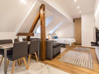 Design Duplex Loft in the Old Town Zagreb