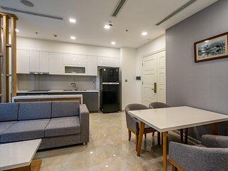 2BR Cozy Apartment ❤️ River&Bitexco View