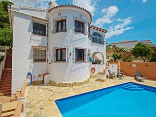 Inge-10 - sea view villa with private pool in Benissa