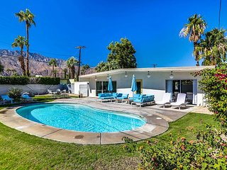 Mid-Century Wexler Home with Private Pool, Hot Tub, & Fire Pit