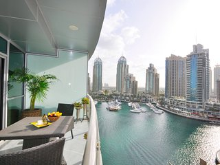 2 Bed Apt Stunning Views of Marina - Marina Terrace - Dubai Marina