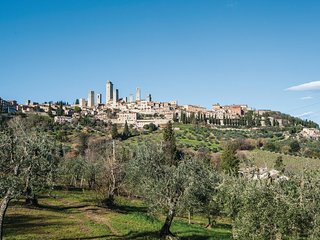 2 bedroom Apartment in San Gimignano, Tuscany, Italy : ref 5537919