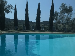 Air Condition villa on the border of Tuscany and Umbria