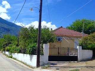 House with yard and garden.You can stay with your pet,very quiet