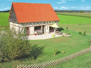 2 bedroom Villa in Le Mesnil-Thébault, Normandy, France : ref 5650394