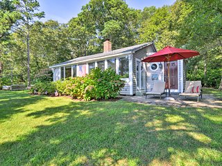 Lakefront Mashpee Home w/ Kayak & Outdoor Kitchen!