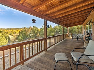 NEW! Cozy Ski Cabin w/ Deck Near Taos Ski Valley!