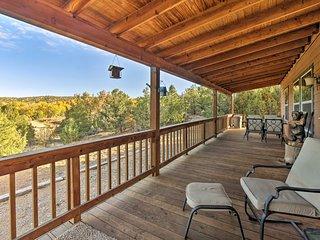 NEW! Cozy Ski Cabin w/ Deck Near Taos Ski Valley!