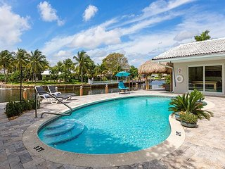 Private and exclusive waterfront home. CLOSE TO LAS OLAS