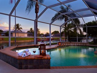 Cape Coral Waterfront Serenity - Waterfront, pool & large dock for relaxation