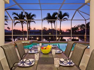 Sunset Paradise - Waterfront home w/ pool, dock, & stunning sunset