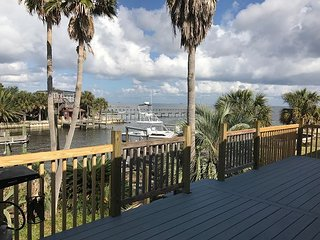 Beautiful bay front home with a boat slip!