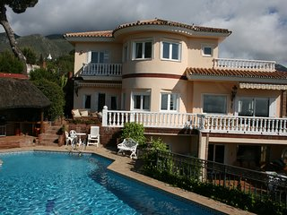 Beautiful and spacious villa with private pool and several sun terraces