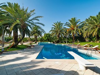 Large, elegant villa w/ private pool, hot tub, terrace & veranda - near beaches!