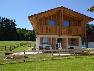 Ferienhaus Waldromantik mit Sauna, ruhig gelegen, mit Berg und Seeblick
