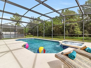 Beautiful 5BR/3BA (Sleeps 10) Pool & Game Room - close to Disney and Universal