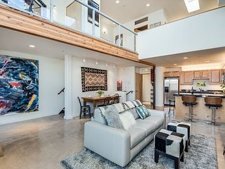 EyeCandy Loft has a contemporary modern design with Santa Fe style