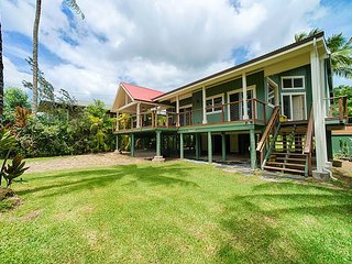Hanalei Beach House.  Steps from beach and town.