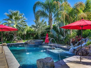 Gorgeous Palm Desert Oasis w/ Backyard Paradise, Pool, Spa & Private Casita