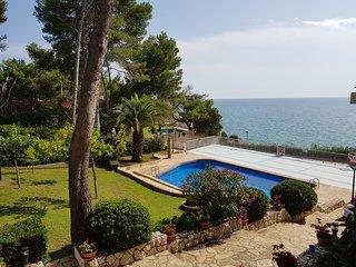 Luxus-Appartment mit Blick aufs Meer in Cap Salou, neben dem Leuchtturm.