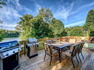 NEW LISTING! Dog-friendly waterfront home w/gourmet kitchen, dock & firepit