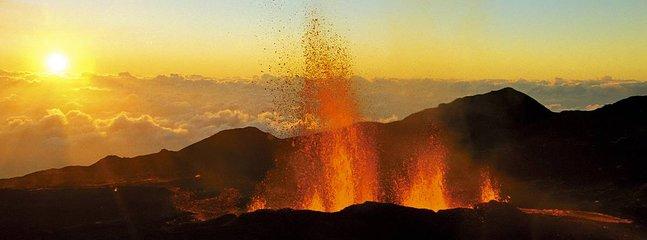 Erupción de Piton de la Fournaise