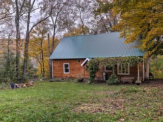 NEW! Catskills Area Home w/Fire Pit - Walk to Lake