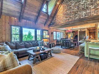 Lake Arrowhead Home w/Kayak, Fire Pit, Nearby Dock