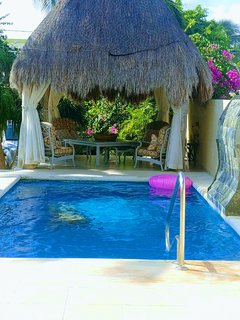 Beachfront Retreat-- Private Home with Pool and Palapa