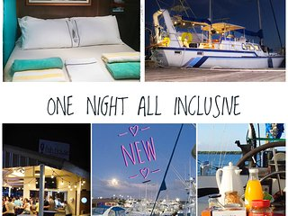 Unique Experience: All Inclusive Night at the Marina on Board a 61' Yacht