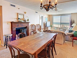 NEW LISTING! Oceanfront condo w/shared pool, private balcony, ocean views