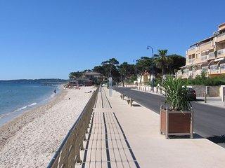 Vue hippodrome et mer, plage à 20 m, climatisation
