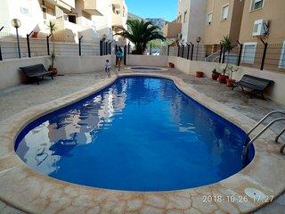 Nice apartment in La Azohia looking to the sea.