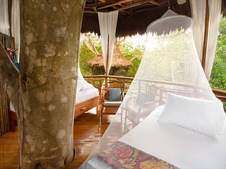 Treehouse 2 Laguna Vista 40ft Sleeps 3 (1 king or 2 twin/ cot)