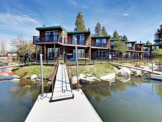 Newly Remodeled 3BR Tahoe Keys Condo w/ Private Boat Dock