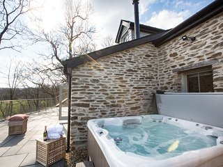 Beautiful detached cottage with breathtaking views of the river Teifi
